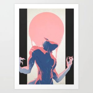 Shapeshifting Art Print